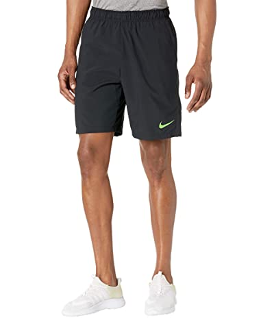 Nike Flex Shorts Woven 3.0 (Black/Mean Green) Men