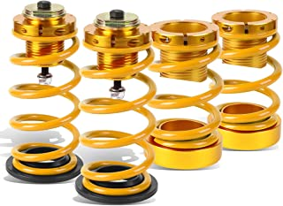 For Honda Civic FA FG 4pcs Aluminum Scaled Suspension Coilover Kit (Gold)