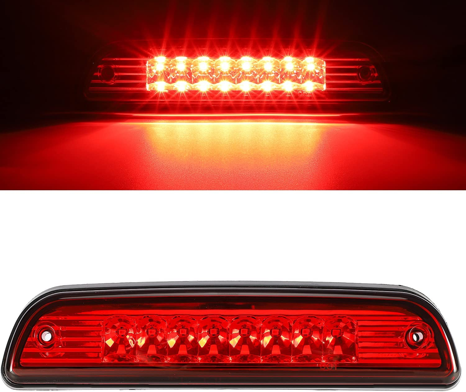 Partsam High Mount Stop Light Cheap mail Ranking TOP6 order specialty store Led fo Replacement Brake 3rd