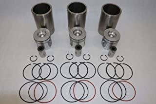 Fits John Deere 3029, 2.9L Powertech Overhaul Kit New RE48721 Piston