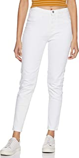 Flying Machine Women's Jeggings Jeans (FWFLJN163_White_32)