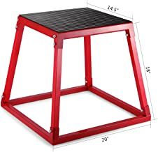 OldFe Plyometric Platform Jump Box Workout Platform Plyo Box Oefening Plyo Box om te springen
