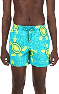 Men's Moorea Mosaic Turtles Swim Trunk