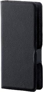 エレコム SONY Walkman S/E 2016 (NW-S15K,S14,S13,S786、S785,S784対応) ソフトレザーカバー/ケース 横型フラップ ウルトラスリム ブラック AVS-S16WDTBK