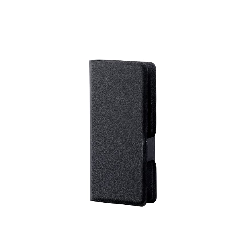 八百屋さんに同意するネーピアエレコム SONY Walkman S/E 2016 (NW-S15K,S14,S13,S786、S785,S784対応) ソフトレザーカバー/ケース 横型フラップ ウルトラスリム ブラック AVS-S16WDTBK