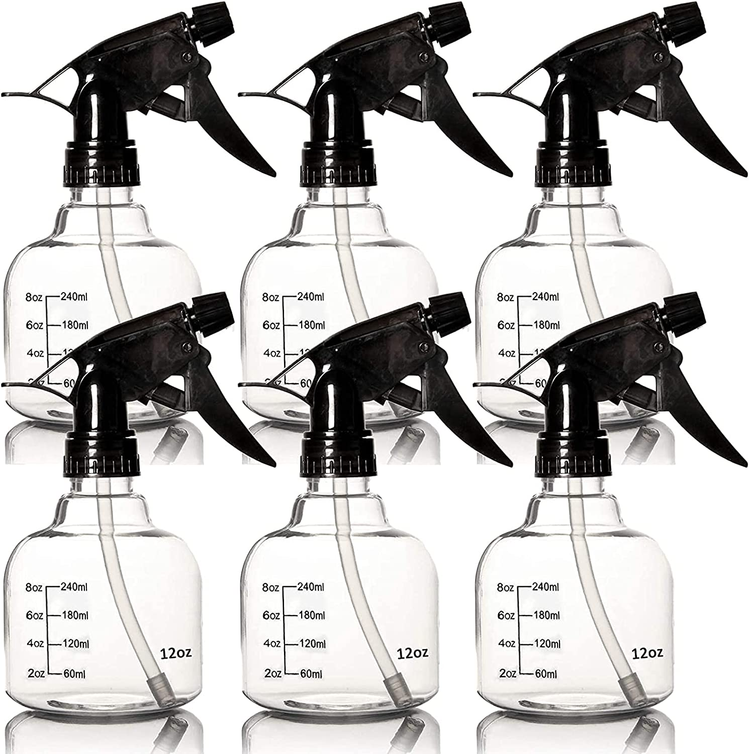6 Empty Plastic Spray Bottles Fresno Mall Department store Hair for and Cleani