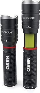 Nebo NB6746 Tac Slyde LED zaklamp en werklamp, 300 lumen focussysteem, 3 AAA alkaline
