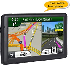 7-inch GPS for Car, Free Lifetime Map Update Navigation System for Cars, Portable Sat-Nav, Vehicle GPS Navigator