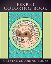 Ferret Coloring Book: 30 Hand Drawn Ferret Drawings. If You Love Ferrets Or Know Someone That Does Then this Is The Perfect Coloring Book Or Gift. (Animals)