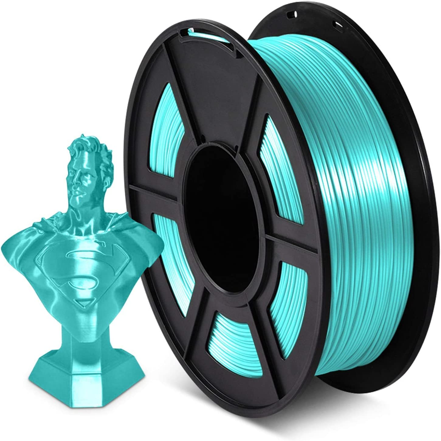 1KG 2.2lbs Silk PLA Thread 1.75mm+ 3D Printer Supply Outlet ☆ Free Shipping In a popularity M -0.02mm