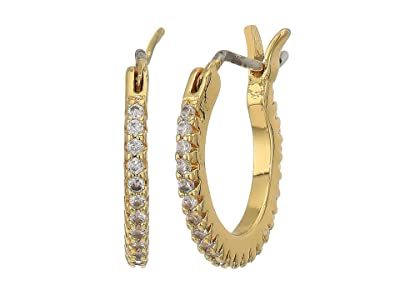 gorjana Shimmer Huggies Earrings (Gold) Earring