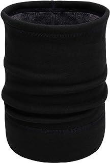 Sponsored Ad – Arcweg Neck Warmer Fleece Snoods Thermal Men Women Drawstring Elastic Neck Gaiter Soft Breathable Neck Tube...