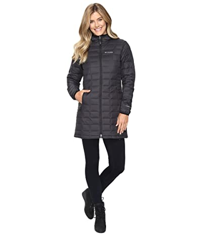 Columbia Voodoo Falls 590 TurboDown Mid Jacket (Black) Women
