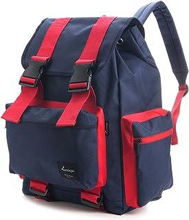 Korea Fashion Line T Backpack Bag School Business Travel Sport Couple