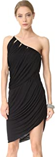 HALSTON HERITAGE Women's One Shoulder D Jersey Dress