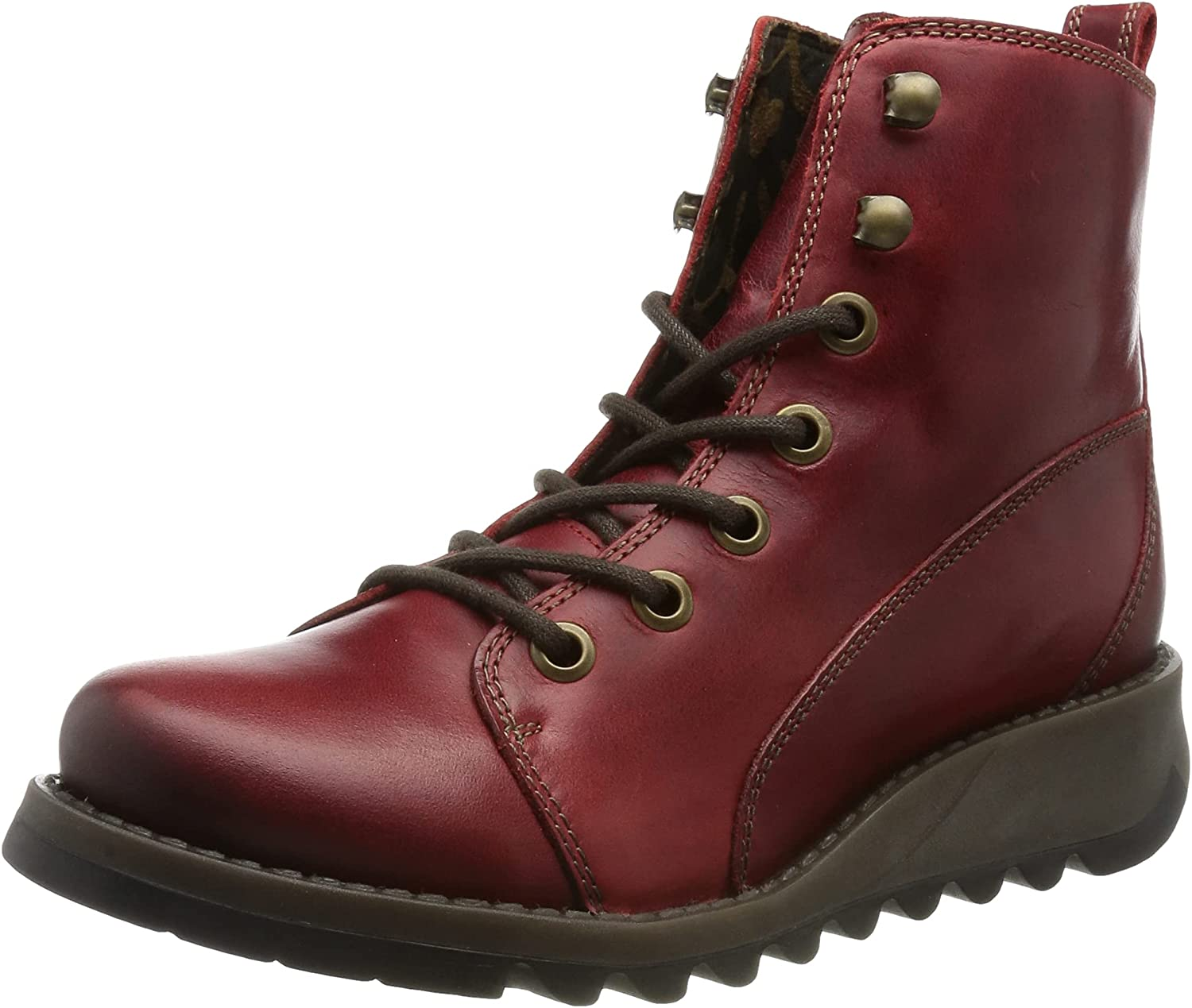 Fly London Women's SORE813FLY Red Boot Translated Award-winning store Ankle 6