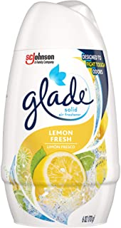 Glade Solid Air Freshener, Lemon Fresh, 6 Ounce (Pack of 12)