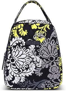 dandodo women fashionable cotton lunch bag lunch box (009Balck)