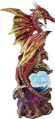 Design Toscano QS90290 Dragon Defender of Life Source Orb, Full Color