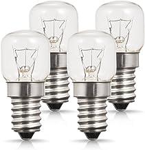 E14 Kleine Edison-schroefbasis, Techgomade-ovenlampen, wolfraamlicht, 25W halogeenlamp, 2700K warm wit, niet dimbaar, verp...