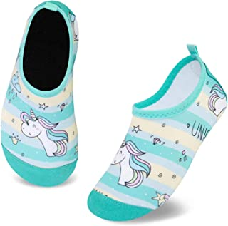 Escarpines de Baño para Niños Zapatos de Agua de Secado Rápido y Antideslizante Zapatos de Agua Bebé Niño Niña Zapatos de ...