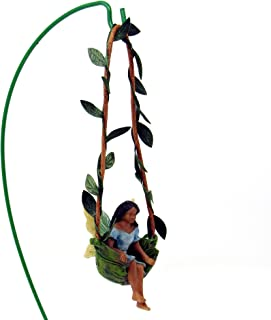 Woodland Knoll Mg214 Swingtime Ebony Fairy Girl