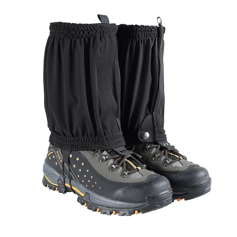トライアスロン酒絶望的な登山ゲイター レギング 靴 裾カバー ハイキング トレッキング キャンプ 撥水 防水 耐水 泥除け 雨 雪 悪天候の日に 男女兼用