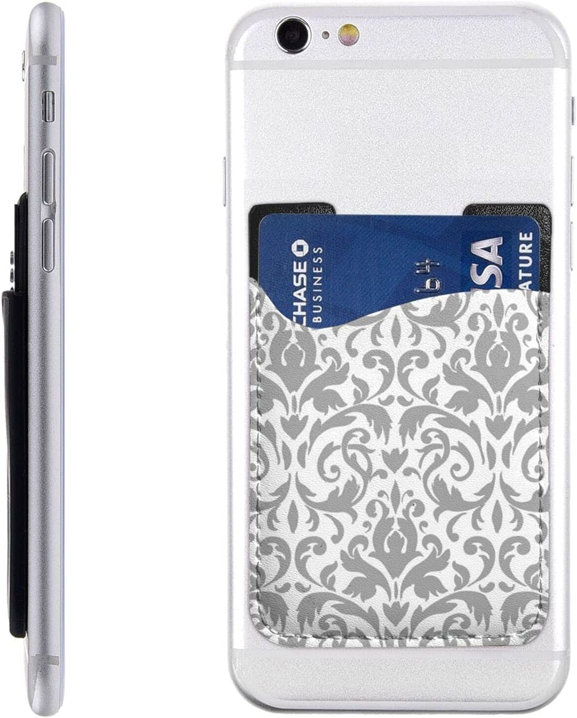 Decor White Tulsa Mall Black Phone Card Stick 55% OFF On Wal Cell Holder