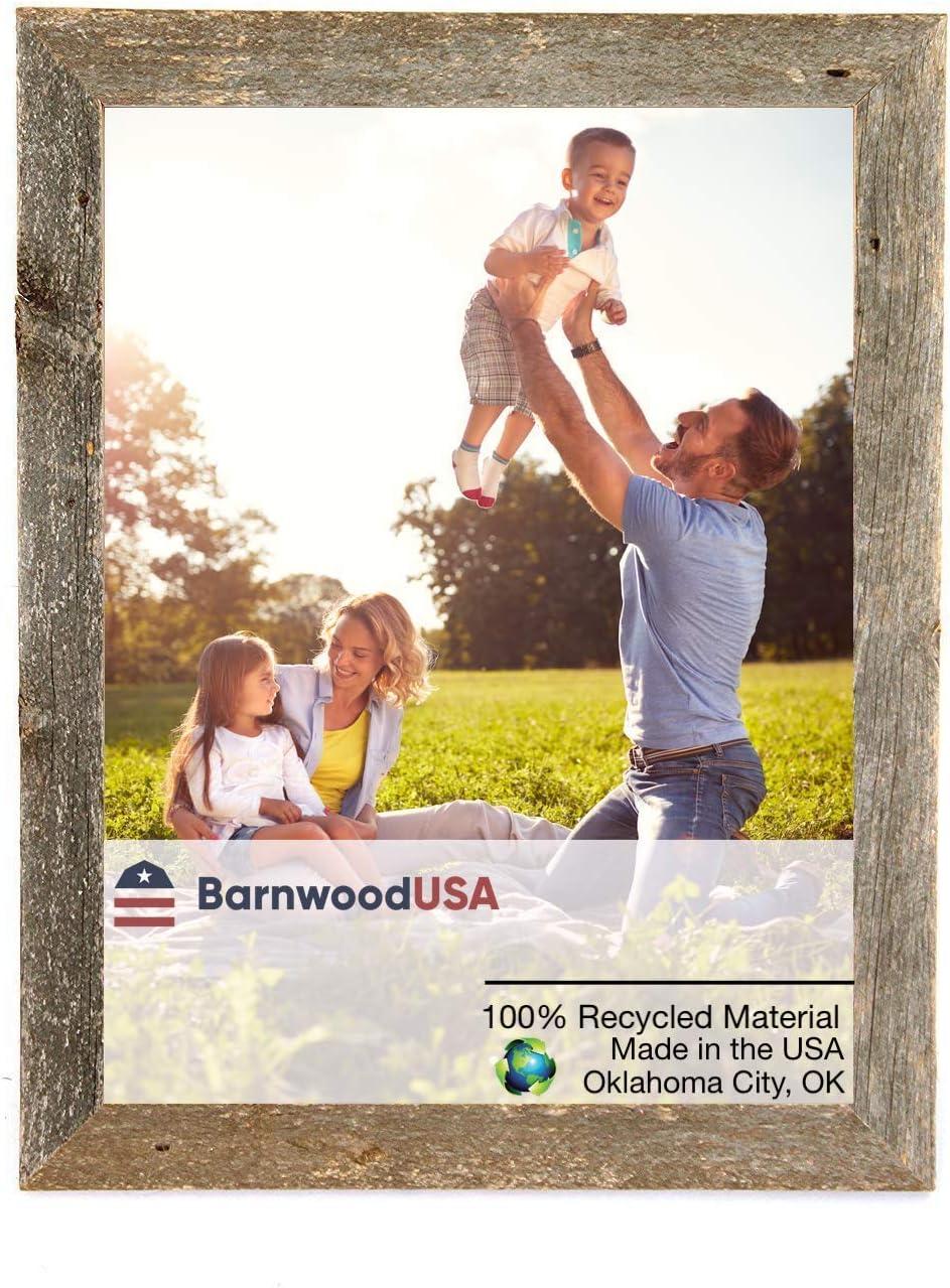 BarnwoodUSA Rustic Easy-to-use 22x27 Custom Picture Regular dealer Frame - Inch Wide 2 1
