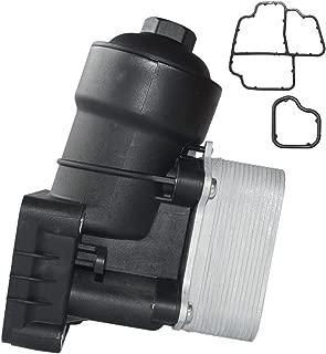Oil Filter Housing Oil Cooler +Oil Filter Fit for AUDI A3 A4 VW SEAT SKODA 1.6 2.0 TDI 03L115389B 03L115389C