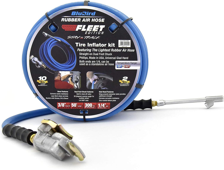 BluBird Fleet Edition Tire Inflator M trust Kit Very popular Lightest Strongest