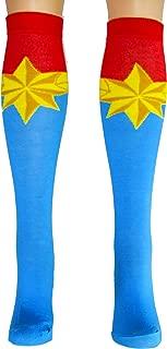 Marvel Captain Marvel Uniform Knee High Socks