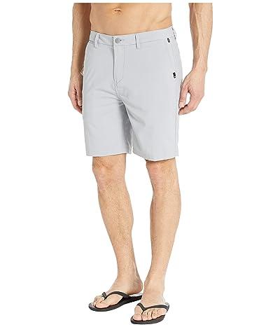 Quiksilver Union Dry Twill Amphibian 19 Shorts (Sleet) Men