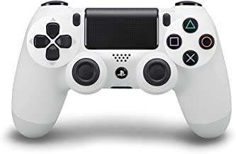 DualShock 4 Wireless Controller for PlayStation 4 - Glacier White (Renewed)