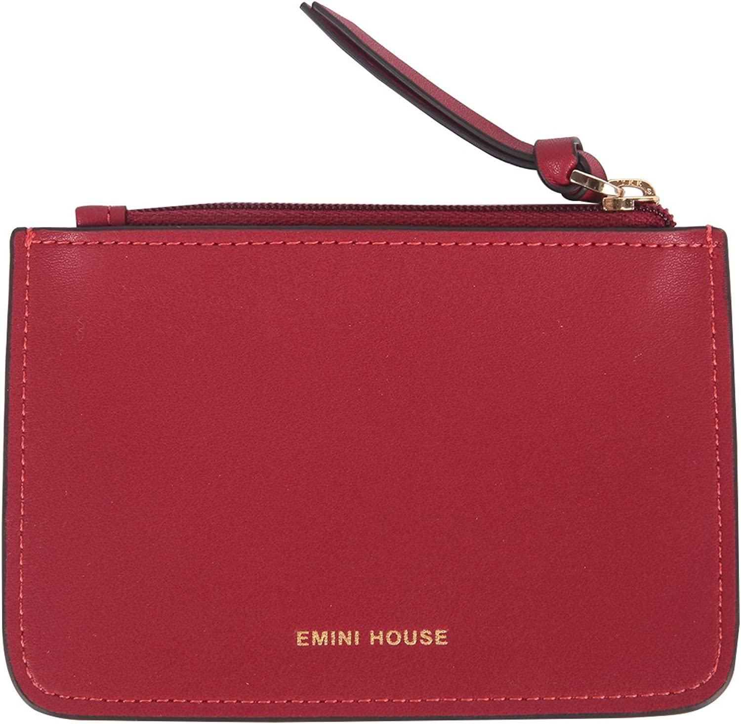 EMINI HOUSE Women Genuine Leather Coin Purse Mini Zip Pouches Change Holder Wallets Card Case