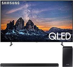 """$3997 » Samsung QN82Q80RA 82"""" Q80 QLED Smart 4K UHD TV (2019 Model) - (Renewed) Bundle with HW-Q60R 360W Virtual 5.1-Channel Soundbar System"""