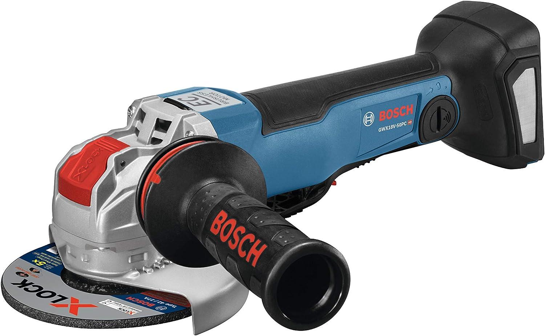 Max 65% OFF Bosch GWX18V-50PCN 18V X-LOCK EC Brushless 2 Connected-Ready 4-1 Boston Mall