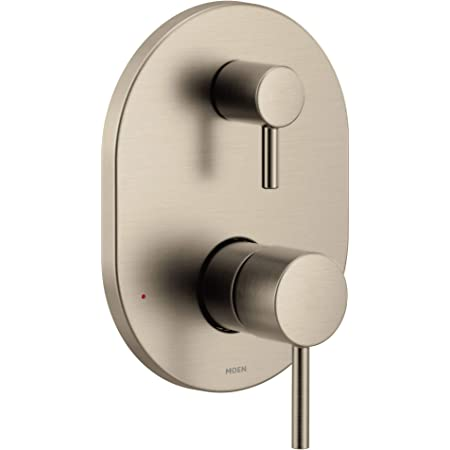 Brushed Gold Moen UTS9211BG Colinet M-CORE 3-Series 2-Handle Shower Trim with Integrated Transfer Valve Required