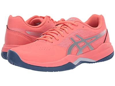 ASICS Gel-Game 7 (Papaya/Silver) Women