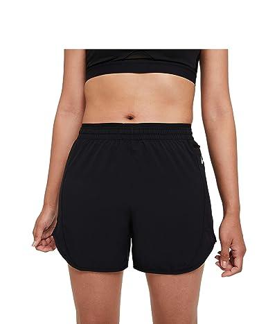 Nike Tempo Luxe Shorts 5 (Black/Black/Reflective Silver) Women