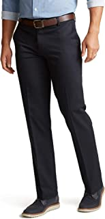 Dockers Men's Straight Fit Signature Lux Cotton Stretch Khaki Pant-Creased
