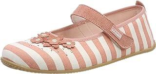 Living Kitzbühel 女童芭蕾舞鞋 条纹 & 花朵低帮拖鞋