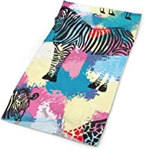 Headband Cartoon Giraffe Zebra Headwear Stretchable Magic Scarf Head Wrap Sport Sweatband