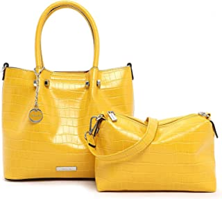 Tamaris Christiane City Shopper M Yellow
