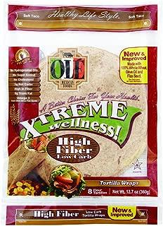 Ole Xtreme Wellness High Fiber | Flour Tortilla Wraps | 8