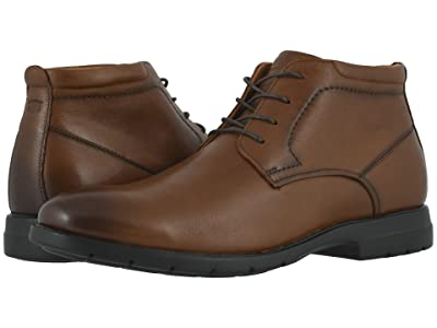 Florsheim Westside Plain Toe Chukka Boot (Cognac Smooth) Men