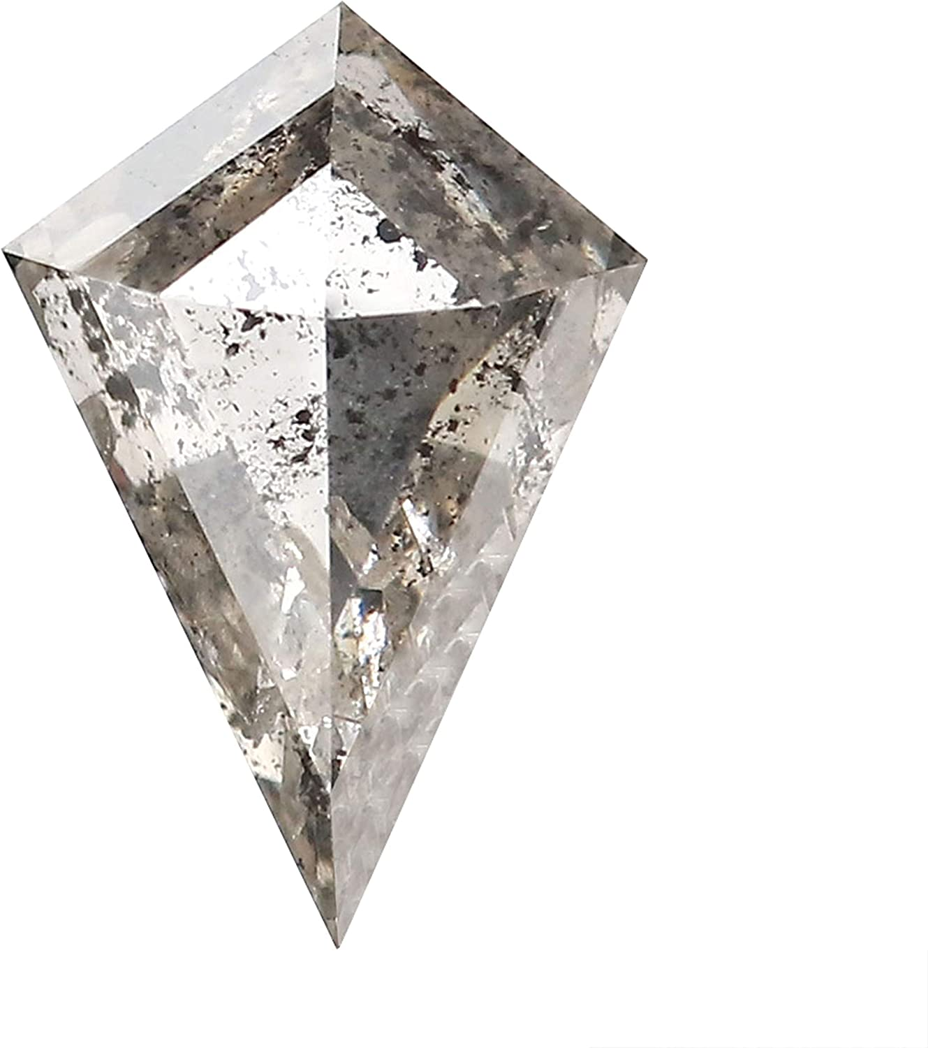 1.02 Ct Natural Loose Diamond Kite Fresno Mall and Salt Grey Limited time for free shipping Black Co Pepper
