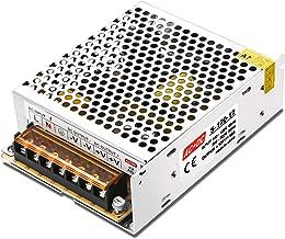 LEDMO Switching Converter, AC/DC Power Supply Adapter Transformer Driver for LED Strip Lights, AC 100V/240V to DC 12V 10A 120W LED Strip Light Power Supply Switching Mode Converter