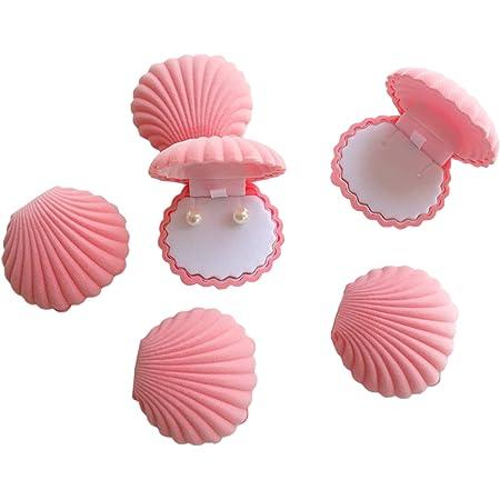 Shell Ring Necklace Earrings Jewelry Storage Organizer Box Case Charm Gift JAUK