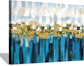 Hardy Gallery Abstract Picture Painting Canvas Artwork: Modern Color Art Print for Living Room Decoration